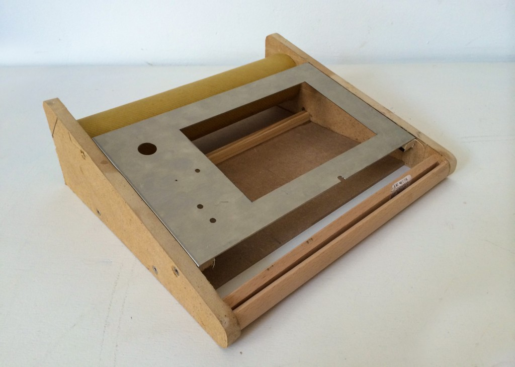 Holz Prototyp von Zeitportal