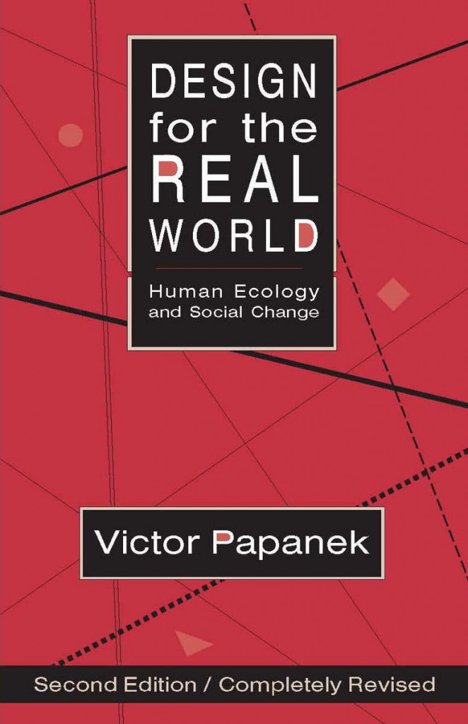 Design for the real world book cover